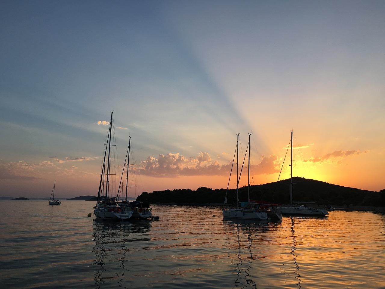 Yacht, Segeln, Kroatien