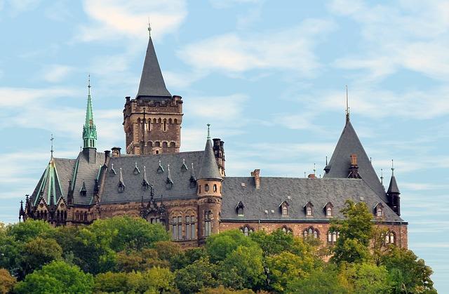 Am Schlossberg in Wernigerode befindet sich eine ausgedehnte Parkanlage mit Orangerie