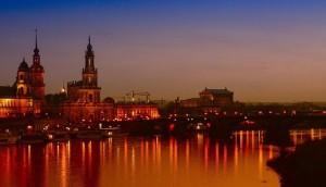 """: Dresden wird wegen seiner Lage auch """"Florenz an der Elbe"""" genannt"""