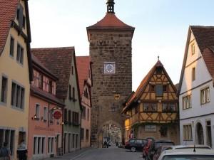 Das Mittelalter ist in Rothenburg ob der Tauber allgegenwärtig