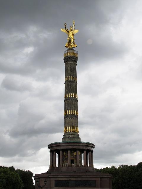 Die Siegessäule von Berlin