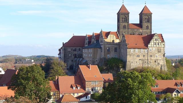 Die Vorgeschichte der Stadt Quedlinburg reicht bis in die Altsteinzeit zurück